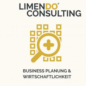 Limendo Unternehmensberatung - Busines Planung und Wirtschaftlichkeit weiss