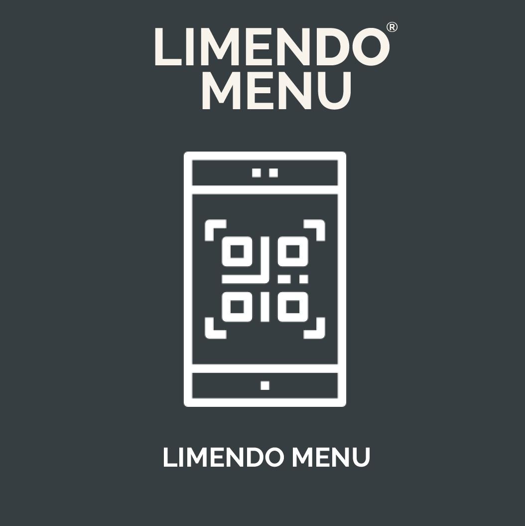 Limendo Menu - digital menu